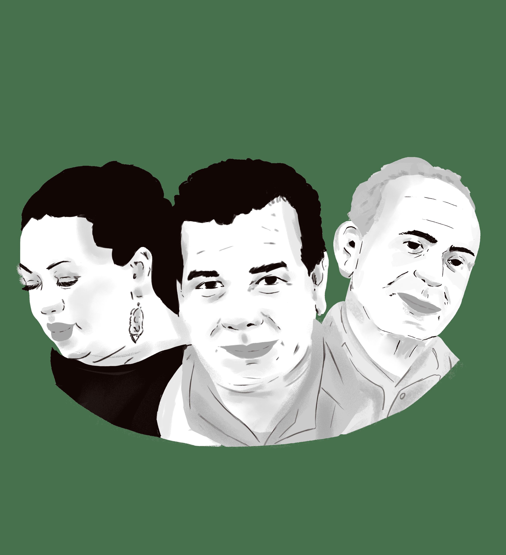 El 2020 iba a ser estupendo para Elisa, Raúl y Rosa Amaya